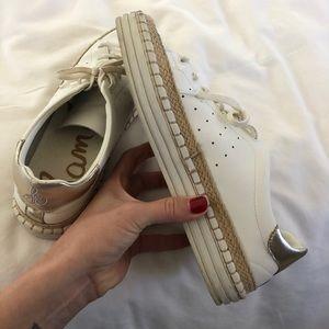 Sam Edelman white sneakers